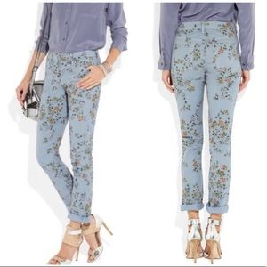 Citizens of Humanity Mandy Skinny Floral Jeans